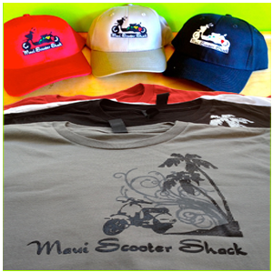 Maui Scooter Shack Apparel