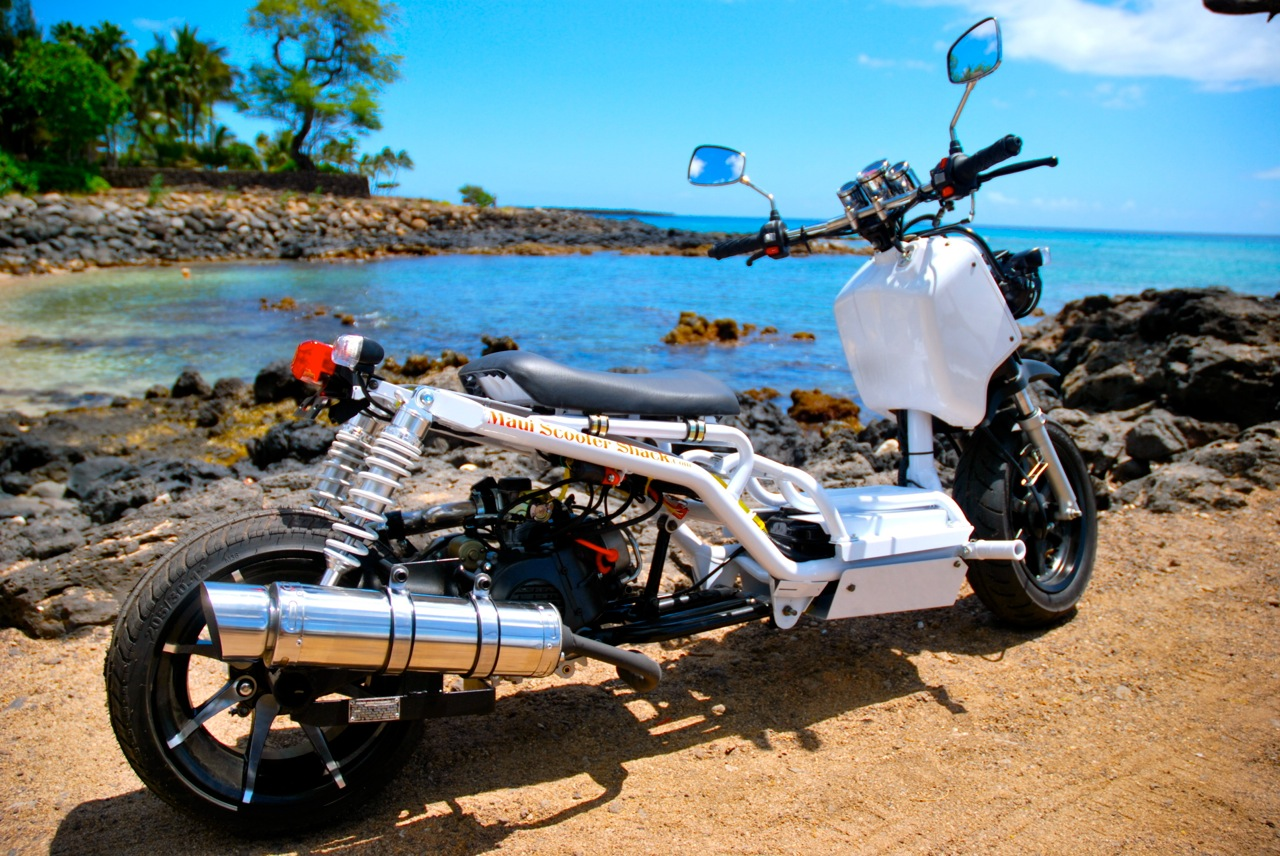 Mad-Dog-Moped | Maui Scooter Shack