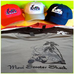 Maui Scooter Shack Apparel